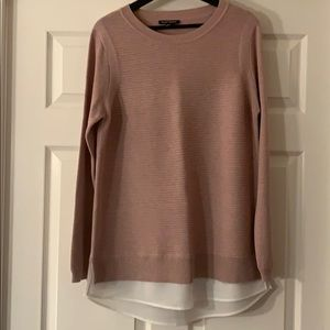 Pink Layered Sweater